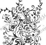 61/621/Дизайнерски печати и надписи за картички-Флорални елементи-13
