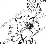 61/625/Дизайнерски печати и надписи за картички-Флорални елементи-17