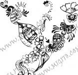 61/626/Дизайнерски печати и надписи за картички-Флорални елементи-18