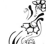 61/632/Дизайнерски печати и надписи за картички-Флорални елементи-24