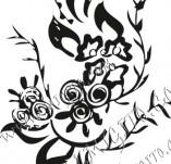 61/633/Дизайнерски печати и надписи за картички-Флорални елементи-25