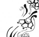 61/634/Дизайнерски печати и надписи за картички-Флорални елементи-26