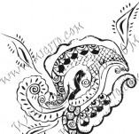 61/635/Дизайнерски печати и надписи за картички-Флорални елементи-27
