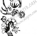 61/636/Дизайнерски печати и надписи за картички-Флорални елементи-28