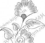 61/637/Дизайнерски печати и надписи за картички-Флорални елементи-29