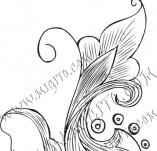61/638/Дизайнерски печати и надписи за картички-Флорални елементи-30