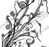 61/641/Дизайнерски печати и надписи за картички-Флорални елементи-33