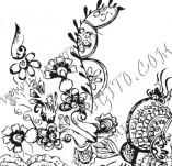 61/642/Дизайнерски печати и надписи за картички-Флорални елементи-34
