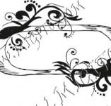 97/647/Дизайнерски печати и надписи за картички-Текстови бордъри-Текстови бърдър 5