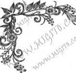 98/747/Design stamps and inscriptions-Corner-corner 14