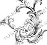 99/760/Дизайнерски печати и надписи за картички-Декоративни елементи-Декоративен елемент 2