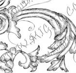 99/769/Дизайнерски печати и надписи за картички-Декоративни елементи-Декоративен елемент 11