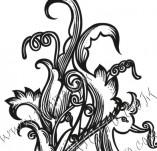 99/778/Дизайнерски печати и надписи за картички-Декоративни елементи-Декоративен елемент 20