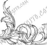 99/782/Дизайнерски печати и надписи за картички-Декоративни елементи-Декоративен елемент 25