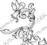 99/789/Дизайнерски печати и надписи за картички-Декоративни елементи-Декоративен елемент 32