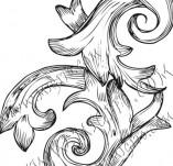 99/799/Дизайнерски печати и надписи за картички-Декоративни елементи-Декоративен елемент 42