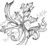 99/807/Дизайнерски печати и надписи за картички-Декоративни елементи-Декоративен елемент 50