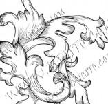 99/823/Дизайнерски печати и надписи за картички-Декоративни елементи-Декоративен елемент 66