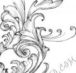 99/833/Дизайнерски печати и надписи за картички-Декоративни елементи-Декоративен елемент 76