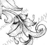 99/842/Дизайнерски печати и надписи за картички-Декоративни елементи-Декоративен елемент 85