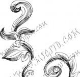 99/850/Дизайнерски печати и надписи за картички-Декоративни елементи-Декоративен елемент 93