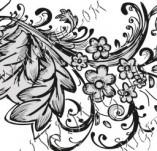 99/872/Дизайнерски печати и надписи за картички-Декоративни елементи-Декоративен елемент 116