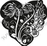 100/889/Дизайнерски печати и надписи за картички-Сърчица-Печат на сърце 8