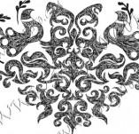 100/890/Дизайнерски печати и надписи за картички-Сърчица-Печат на сърце 13
