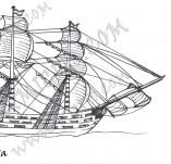 101/915/Дизайнерски печати и надписи за картички-Морски-Кораб 2