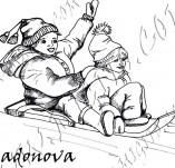 20/935/Дизайнерски печати и надписи за картички-Деца-На парзалка