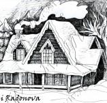 103/942/Дизайнерски печати и надписи за картички-Къщи-Топла хижа