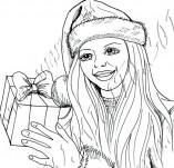 25/947/Дизайнерски печати и надписи за картички-Нова Година-Подарък за теб
