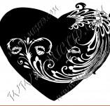 100/964/Дизайнерски печати и надписи за картички-Сърчица-Печат на сърце10