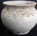 105/982/Декупаж-Каменна дантела -Гърне с каменна дантела